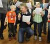 Jeremy Vannatta sings Christmas carols