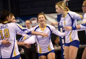 Class A Volleyball Friday