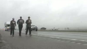 Montana Law Enforcement Torch Run off to a wet start