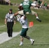 Rocky Mountain College wide receiver Andre McCullouch