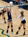 Powell, Billings Central volleyball teams find success at Border Wars