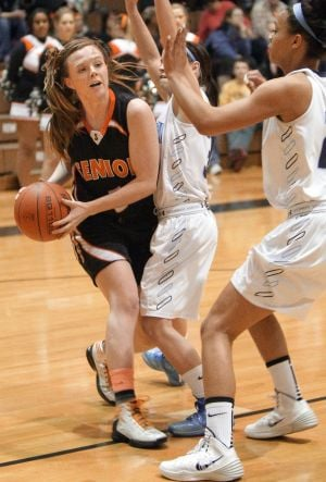 Fifth-ranked Senior girls upend No. 2 Great Falls, 49-45