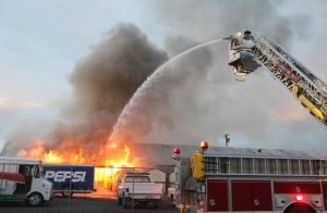 Fire burns shed on property of Billings Pepsi distributor