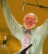 Ronnie Bedford performs at his 80th birthday