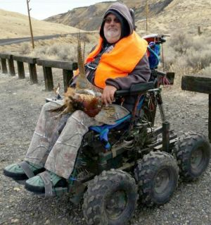 Friends help quadriplegic hunt pheasant, elk