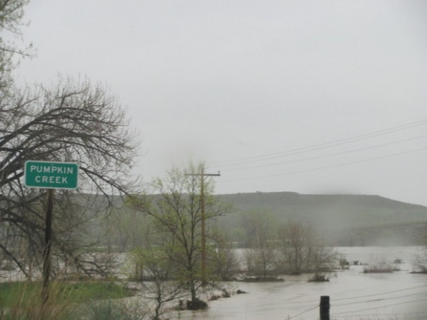 Flooding of Tongue River and Powder River