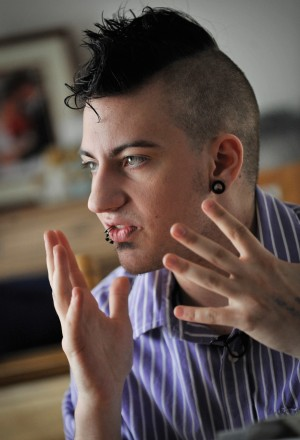 Transgender male: 'I never associated with being female'