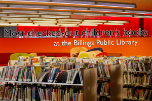 Most checked-out children's books