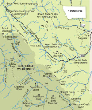 Straight Creek: An easy introduction to Bob Marshall