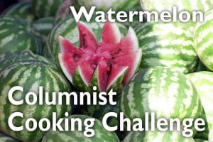 Slideshow: Cooking challenge, watermelon