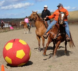 Equestrian Soccer at Laurel Saddle Club