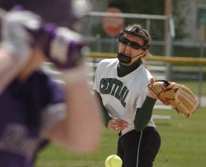 State A softball: Day pitches Central to 1-0 victory at State A tourney