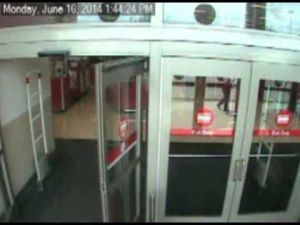 Security video: Casino robbery suspect