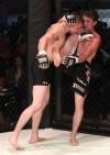 Morgan Mason knees Levi Stark in the face