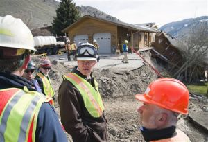 Wyoming landslide stabilization to begin in 2015