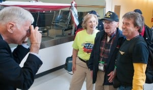 86 WWII veterans arrive in D.C. on Big Sky Honor Flight