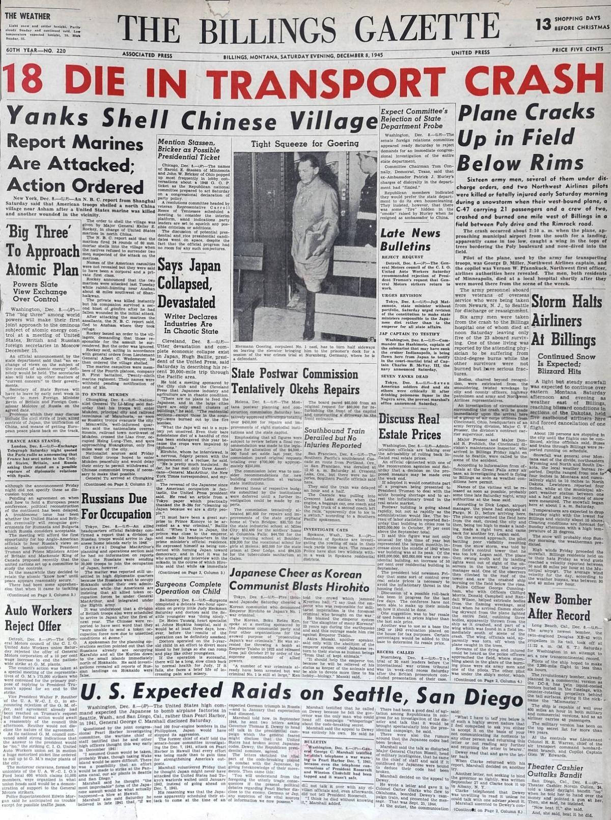 70th anniversary of Bi...