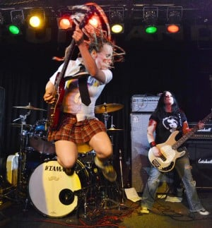 Feature photos: All-female AC/DC cover band