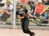 Maranda Ratcliff of West drives in two runs