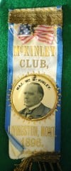 McKinley Club ribbon
