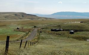 Elevation points illustrate Yellowstone County's ecological variety