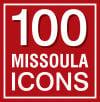100 Missoula Icons logo