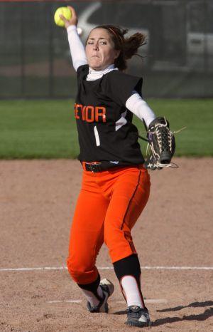 Senior Skyview softball
