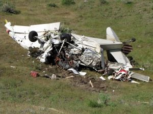 Pray man injured when plane crashes near Yellowstone