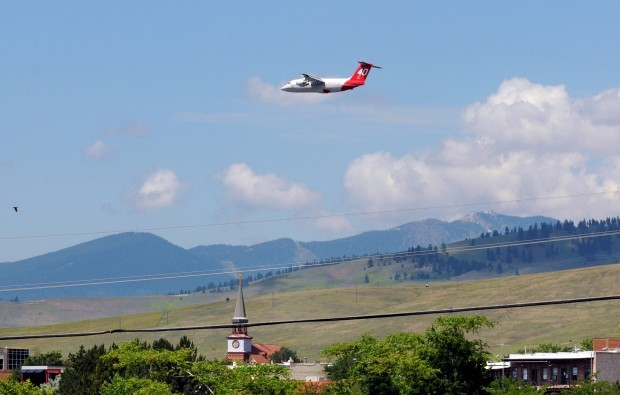 Neptune Aviation Tests Firefighting Jet On Low Flights