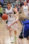 Central girls close regular season with win over Skyview