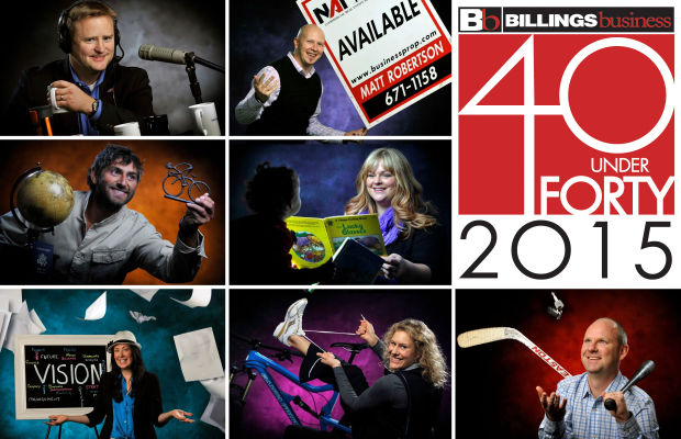 40 Under Forty: Thanks, Billings, for helping us select our 40 Under Forty winners