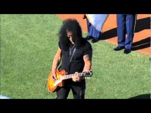 2009: Slash at the NLDS