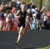 Nicole Reitz of Billings West competes in the 1600-meter run