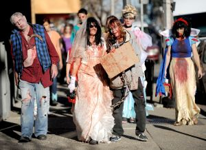 The zombie apocalypse returns to downtown