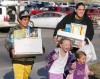 Stephanie Garcia and her children