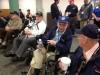 Honor Flight veterans chat