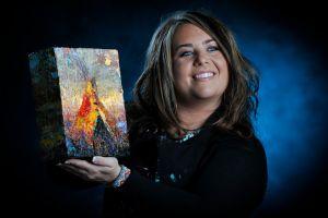 Kira Fercho, artist, licensed therapist