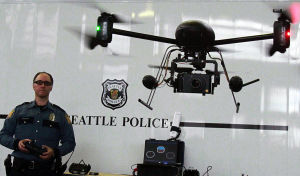 Committee moves bill to restrict police drone use
