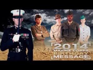 2014 Marine Corps Birthday Message