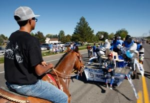 Skyview Homecoming Parade