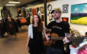 New downtown Billings shop partners art and music