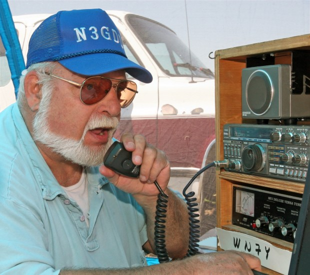 Amateur radio operators prepare for disasters at the 5th annual Field Day
