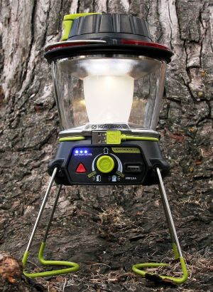 Gear junkie: Rechargeable LED lantern also charges phone