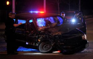 Head-on collision occurs at King Avenue West on Saturday night