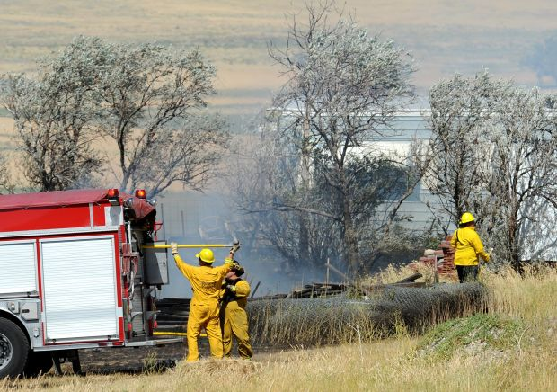 Mild so far: Officials say there's still time left for lots of wildfires