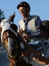 Horse trainer Leroy Coombs