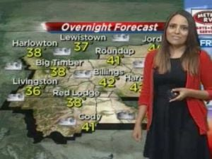 Cooler weather, showers possible