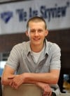 Levi Streeter will graduate from Skyview