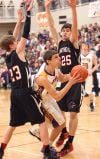 Class C boys: Westby-Grenora going from the hunter to the hunted