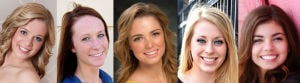 5 to compete for title of Miss Montana's Outstanding Teen